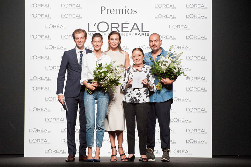 Premio L´Oreal Fashion Week Madrid