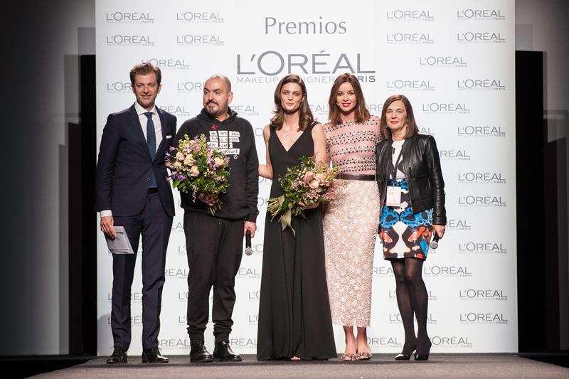 Duyos y Marina Pérez, ganadores del Premio L´Oreal París