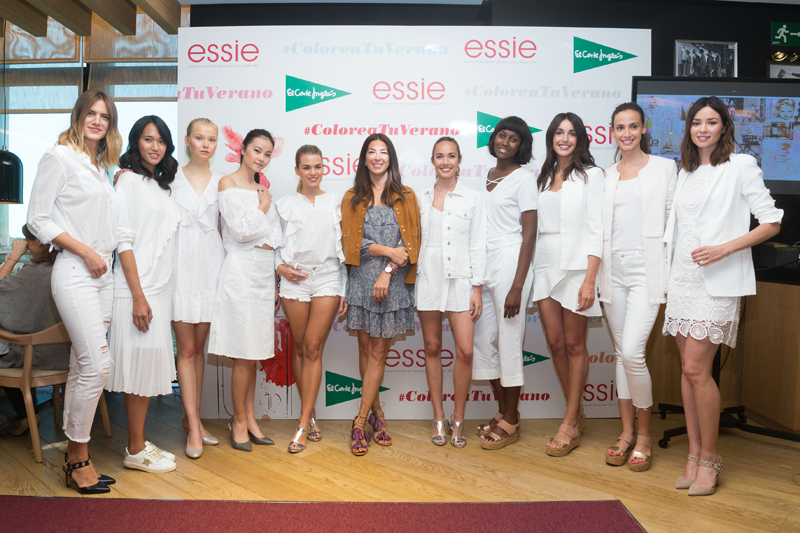 Presentación de la nueva colección de verano 2017 de essie