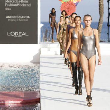 L´Oreal París, maquillador y peluquero oficial de Mercedes Benz Fashion Weekend Ibiza