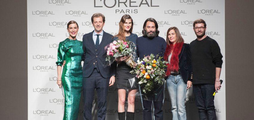 Juanjo Oliva y Lucía López ganadores de el Premio L´Oreal París