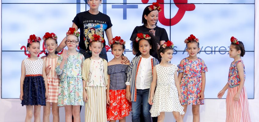 N+V, Nieves Álvarez y Villalobos triunfan con el desfile de su nueva colección Frida.