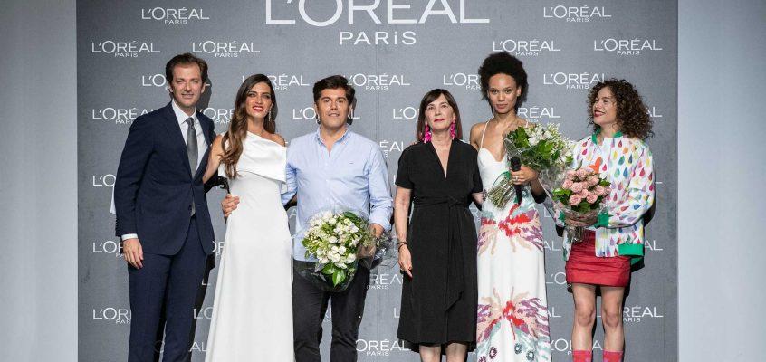 Jorge Vázquez, Afrodita Dorado y Ágatha Ruiz de la Prada Premios L´Oreal París.