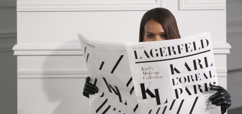 Karl Lagerfeld x L´Oréal París
