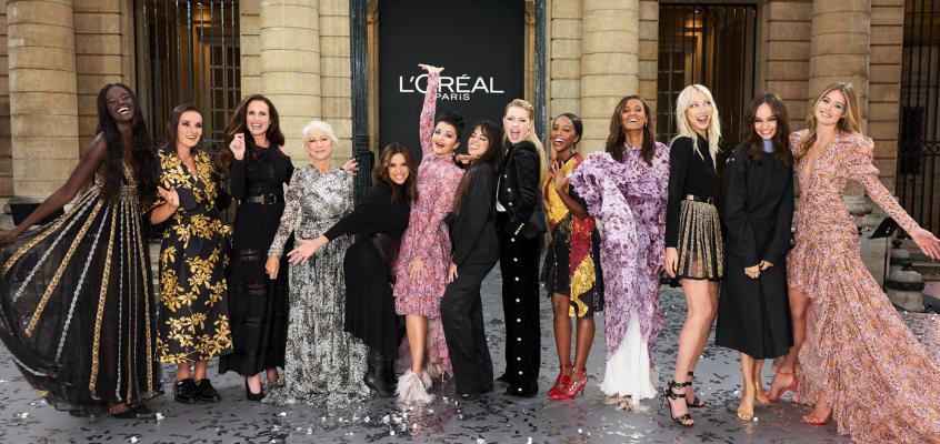 Tercera edición de Le Défilé de L'Oréal Paris en París Fashion Week